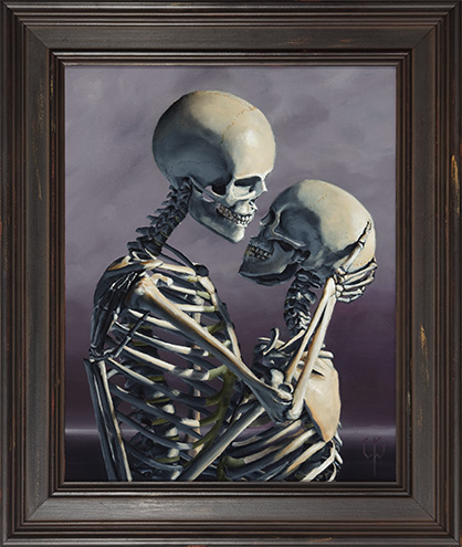 Chris Peters | All My Love | Skeleton Painting
