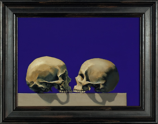 "Chris Peters ""Orthographic Skulls"""
