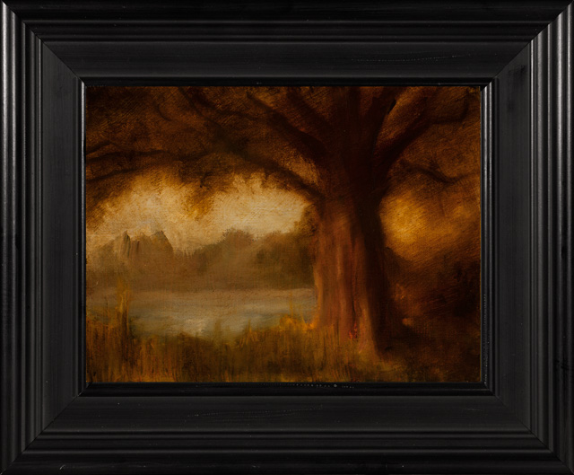 Chris Peters Solitary Oak Landscape