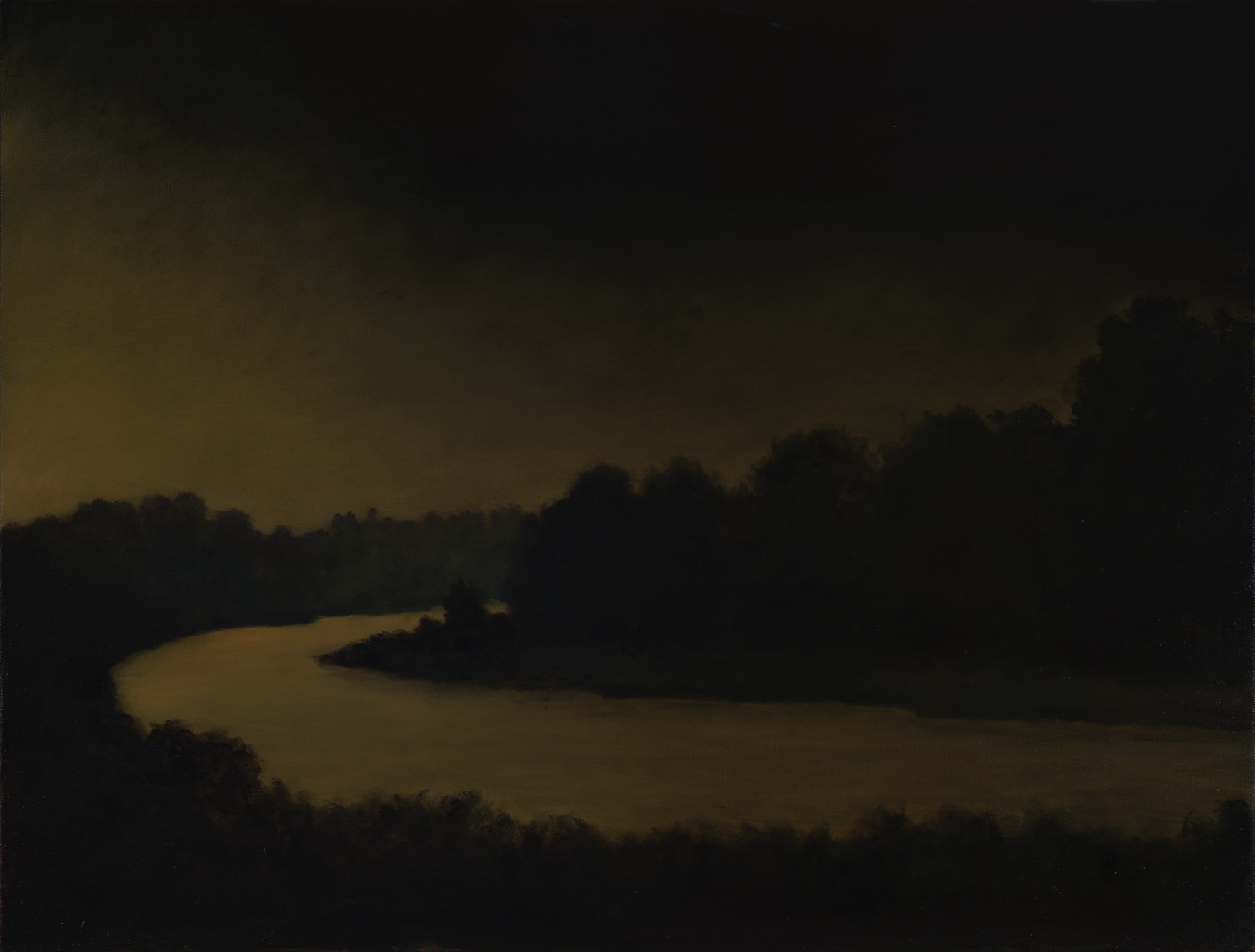 American Tonalism / Night River / Chris Peters