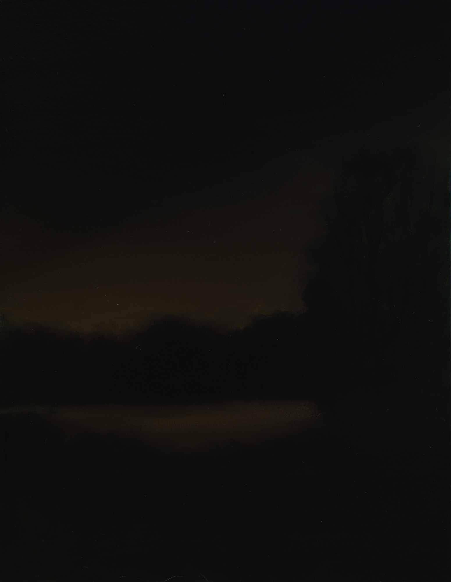 American Tonalism / Night Study / Chris Peters