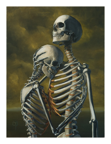 Chris Peters | To Hold You Again | Skeleton Print